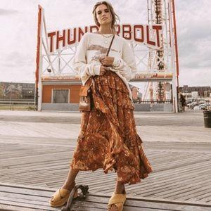 Spell & The Gypsy Aurora Frill Skirt